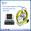 Wanne Tilt Sewer Pipe Inspection Camera mit Recording Function