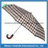Зонтик человека ручки качества достигаемости 2 створок деревянный