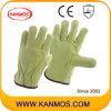 Промышленная безопасность Свинья Сплит кожа водителя Рабочие перчатки (21201)