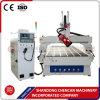 4 CNC Rouer 1325/CNC van de as Machine 1325 die met de Omwenteling 180degree van de As voor Kant het Snijden van het Knipsel Engraing het Malen van de Kromme van de Boog boren
