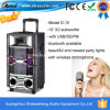 De professionele PA Speaker van Wireless Multimedia met USB/SD/FM