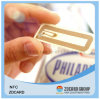 ペットRFIDチップが付いているスマートなPVC接触/無接触ICの札