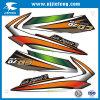 Het aangepaste Vrije Overdrukplaatje van de Sticker van de Motorfiets van het Ontwerp