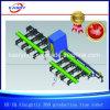 Tubo del Todopoderoso 360 de la construcción naval/perfil/cadena de producción de la hoja que hace frente/de máquina del corte oval del tubo
