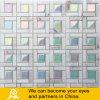 Глянцеватая стеклянная мозаика с камнем B04
