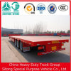 28t 30t 3 Axle High Quality Best Price Flatbed Truck Trailer Flat Bed Semi Trailer