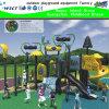 O campo de jogos ao ar livre o mais bonito da aventura ajustado com desenhos animados e (HK-50026)