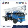 O caminhão montou máquina Drilling da profundidade de 300m para a água