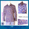 Stock Shirts, 100%Cotton Shirts, Havaiian Long Clothes (SD-S001)
