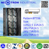 Дешевая покрышка Bt556 285/75r24.5 Radial Truck для Drive Wheels
