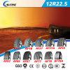 Schlauchloser Radiallaufwerk-LKW-Gummireifen (12R22.5) mit ECE