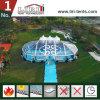 Tente mélangée transparente de chapiteau pour la restauration de 500 personnes