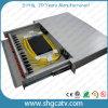 Los 24 paneles de corrección ópticos desplazable de fibra del montaje de estante de los accesos (FPP-D-FC24)