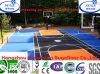 De multifunctionele Draagbare Opgeschorte Met elkaar verbindende Bevloering van het Basketbal