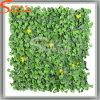 Parete artificiale dell'erba del prodotto dei commerci all'ingrosso del prato inglese della decorazione di plastica del giardino (AGL001)