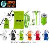 Earbuds promocional/oído de la cuerda florece completamente la bolsa de Microfiber