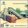 Hydraulic semiautomático Straw Cotton Stalk Baler con el CE Certificate Hmst3-2
