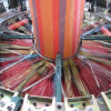 シャトル織機PPによって編まれる袋の生産ラインシャトルの回状の織機