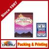 China, el proveedor del naipe de papel personalizado, personalizar tarjetas de comercio
