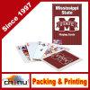 Tarjeta del logotipo Reproducción impresa de papel personalizado, tarjetas del póker de impresión, las tarjetas de juego de Publicidad