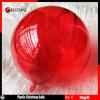 Boule colorée transparente