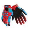Перчатки спортов ПРОФЕССИОНАЛЬНОЙ конструкции Red&Blue анти- направляя рельсами участвуя в гонке (MAG43)
