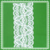 Diseño de la manera para el cordón elástico de Raschel del telar jacquar