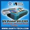 Impressora Flatbed de Sinocolor UV-1325 com as cabeça de impressão de Seiko Spt1020