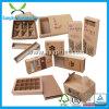 Ambiental reciclar el rectángulo de papel de Kraft del regalo respetuoso del medio ambiente