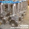 Kosen 스테인리스 칼 게이트 밸브 (PZ73)