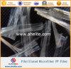 Microfiber fibriló la fibra del acoplamiento de los PP para el mortero concreto del cemento