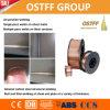 Alambre revestido del MIG del cobre sólido (AWS ER70S-6) para la construcción general