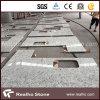 Bancadas brancas da cozinha de Rosa do granito brasileiro para o anúncio publicitário