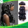 Extensão humana de venda quente do cabelo do Virgin da onda do corpo do cabelo 2016