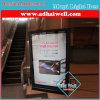 De Wandelgalerij die van het avondmaal Lichte Doos adverteert
