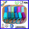 Cute Portable Empty Hand Silicone Sanitizer Holders with Pet Bottle