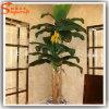Árvore artificial verde decorativa interna dos bonsais da banana