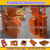 Petit sol hydraulique Brique de presse Making Machine / Clay Interlocking Bloquer la machine