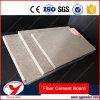 Placa à prova de fogo do cimento da fibra da decoração da parede