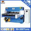 Máquina cortando do PVC do plano hidráulico da coluna de Hg-B60t quatro/máquina de couro