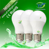 iluminação plástica de 6W 8W B22 85-265V com o UL do CE SAA de RoHS