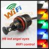 WiFi Control RGB Color Change СИД Halo Ring СИД Marker APP Phone Control H8 32W Car Headlight для BMW E92 H8 RGB СИД Angel Eyes
