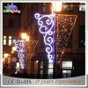 通りのポーランド人のクリスマスの表示CE/RoHS休日は装飾ライトを祝う