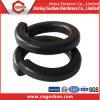 Black Steel Carbon Railway Laveuse, Double Ressort Rondelle , Rondelle