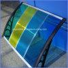 Дождь сени тента поликарбоната DIY напольный затеняет UV предохранение