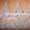 Silbernes Strand Corded Lace Trim Used auf Lady Clothes Vlb-62033c