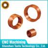 Cilindri di rame girati CNC, pezzi di precisione
