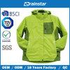 Taslon rompevientos chaqueta verde caliente