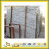 Laje de mármore branca chinesa de Guangxi para o revestimento