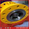 Tipo válvula do bocal do aço de molde de verificação do fluxo axial